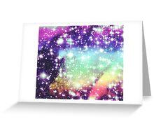 Rainbow Galaxy Greeting Card