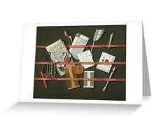Edwaert Collier  - STill Life A Letter Rack.  Collier  - still life with  Letter. Greeting Card