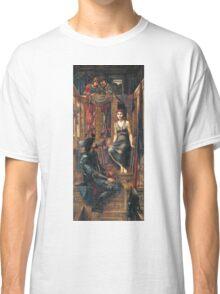 Edward Burne-Jones  - King Cophetua And The Beggar Maid 1884. Burne-Jones  - people portrait. Classic T-Shirt