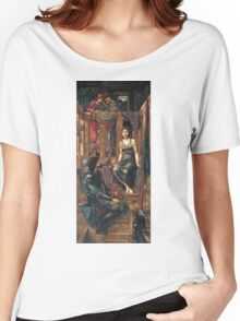 Edward Burne-Jones  - King Cophetua And The Beggar Maid 1884. Burne-Jones  - people portrait. Women's Relaxed Fit T-Shirt