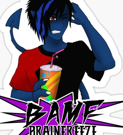 BAMF - Brainfreeze Sticker