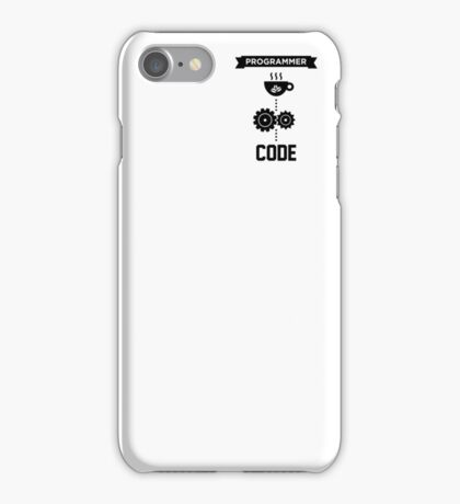 Programmer - Love Coffee Code iPhone Case/Skin