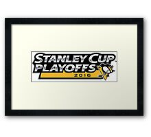 | 2016 Pittsburgh Penguins NHL Stanley Cup Playoffs | Framed Print