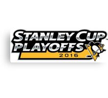 | 2016 Pittsburgh Penguins NHL Stanley Cup Playoffs | Canvas Print