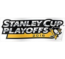 | 2016 Pittsburgh Penguins NHL Stanley Cup Playoffs | Poster