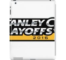 | 2016 Pittsburgh Penguins NHL Stanley Cup Playoffs | iPad Case/Skin