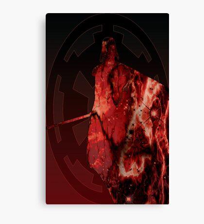 Darth Vader Space Design Canvas Print