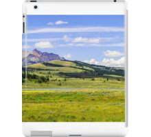 Yellowstone National Park iPad Case/Skin