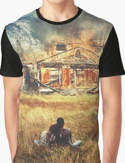 Burned Graphic T-Shirt