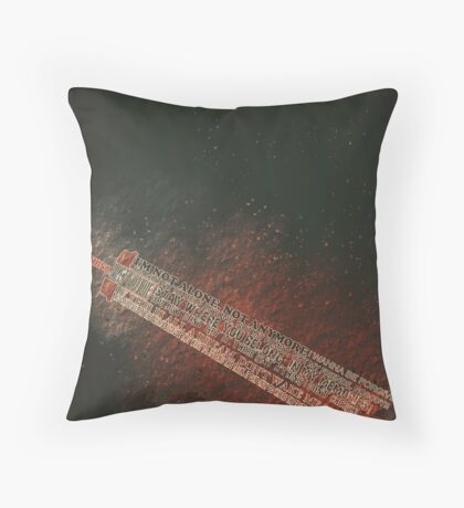 Cloud Strife Quote 2 Throw Pillow