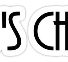 80's Chick Sticker
