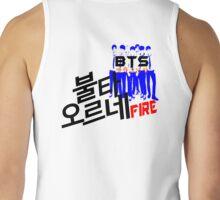 ♥♫Fire BTS-Bangtan Boys K-Pop Clothes & Phone/iPad/Laptop/MackBook Cases/Skins & Bags & Home Decor & Stationary♪♥ Tank Top