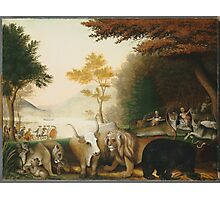 Edward Hicks - The Peaceable Kingdom 1845. Hicks  Photographic Print