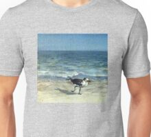 Flipping Beach miniature painting 50 mm. Unisex T-Shirt