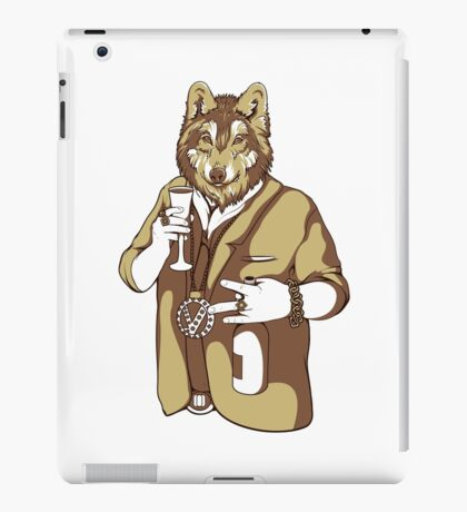 Bling Bling Wolf iPad Case/Skin