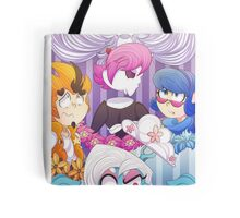 Mystery skull freaking out Tote Bag