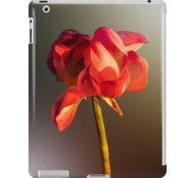 Golden glow lotus flower iPad Case/Skin