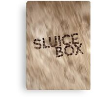 Sluice Box Canvas Print