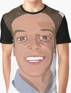 Vector Portrait Graphic T-Shirt
