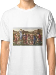 Edward Burne-Jones  - The Mirror Of Venus 1877. Burne-Jones  - woman portrait. Classic T-Shirt