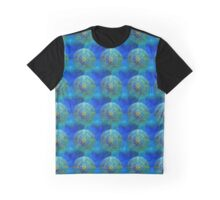 Turquoise and Mysterious Graphic T-Shirt