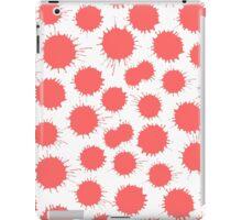 Inky Blots - Tropical Pink iPad Case/Skin
