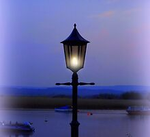 Evening Lamp in Topsham by Charmiene Maxwell-Batten