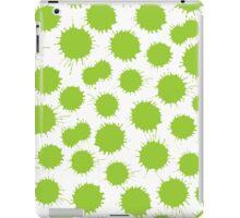 Inky Blots - Martian Green iPad Case/Skin