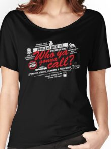 Who Ya Gonna Call? Ghostbusters! Women's Relaxed Fit T-Shirt