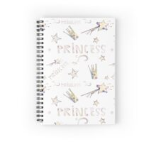 Pattern for princess Spiral Notebook