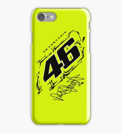 Rossi Forty Six iPhone Case/Skin