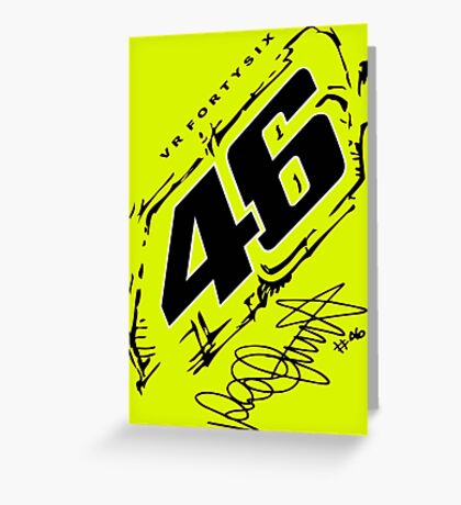 Rossi Forty Six Greeting Card