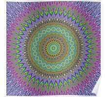 Mandala explosion Poster