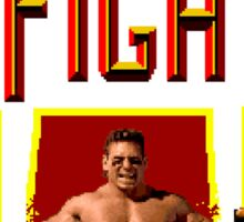 PIT FIGHTER CLASSIC ARCADE GAME Sticker