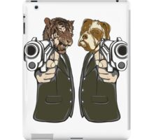 Pulp Fiction - Tiger and Dog iPad Case/Skin