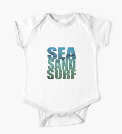 Sea Sand Surf One Piece - Short Sleeve