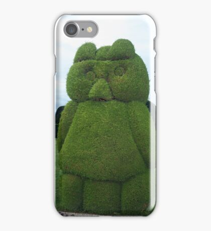 Tulcan Topiary Bird iPhone Case/Skin