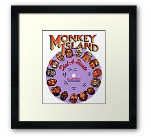 MONKEY ISLAND - DISC PASSWORD Framed Print