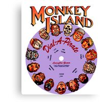 MONKEY ISLAND - DISC PASSWORD Canvas Print
