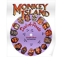 THE SECRET OF MONKEY ISLAND - DISC PASSWORD Poster