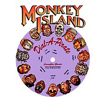 THE SECRET OF MONKEY ISLAND - DISC PASSWORD Photographic Print