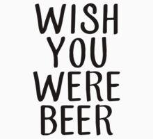 wish you were beer (black) by gleekfr