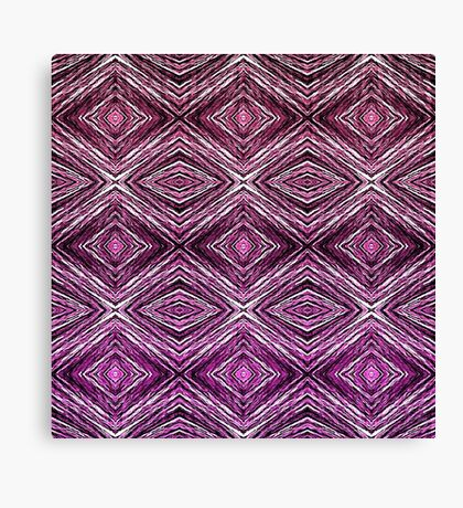 Memories of Woven Grass, Plum Canvas Print