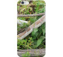 Wood Rail Fence iPhone Case/Skin