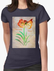 Amaryllis Amore Womens Fitted T-Shirt