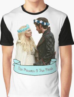CaptainSwan - Pirate & Princess Graphic T-Shirt