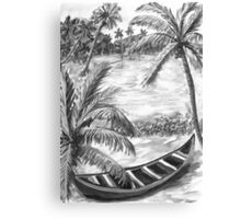 Backwaters of Kerala - Dad for you 4 Canvas Print