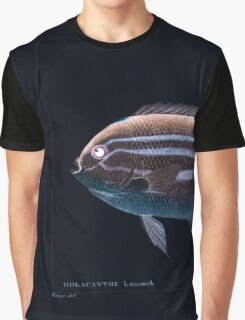 Natural History Fish Histoire naturelle des poissons Georges V1 V2 Cuvier 1849 061 Inverted Graphic T-Shirt