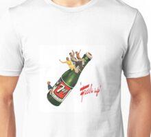 """7up Retro bottle """"Fresh Up"""" Unisex T-Shirt"""