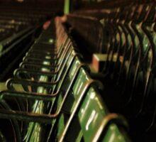 Bostons Fenway Park Baseball Vintage Seats Sticker